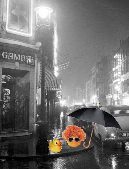 skillin' in the rain
