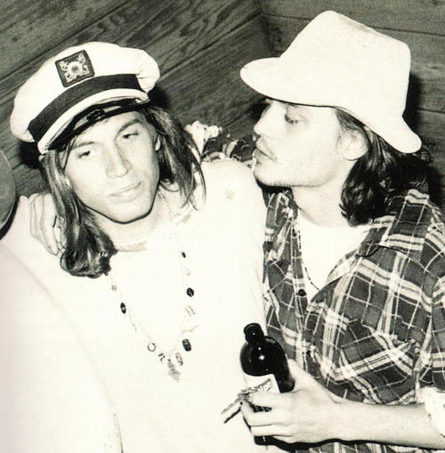 johnny depp & evan dando