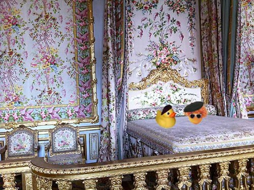 chambre de marie antoinette