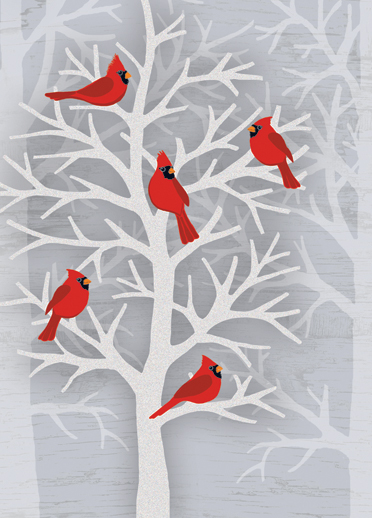 Cardinals on Christmas Cards | Mental Skillness